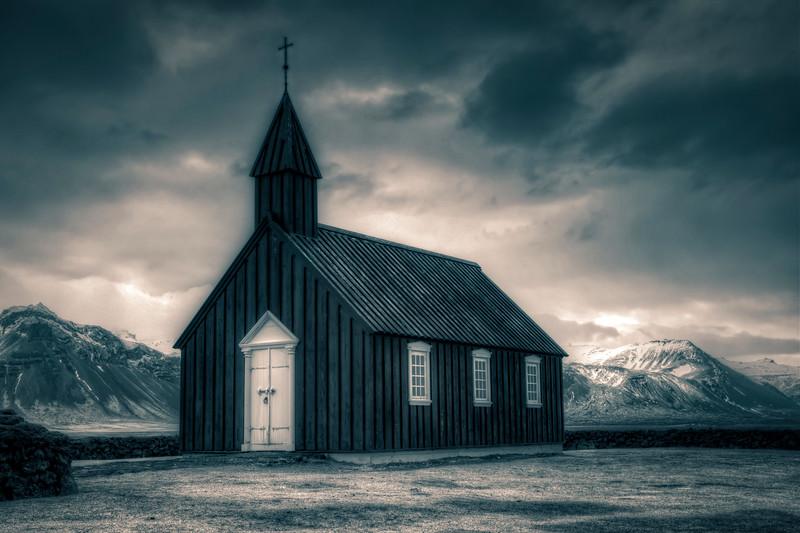 Budir Church #3, Snaefelsness Peninsula