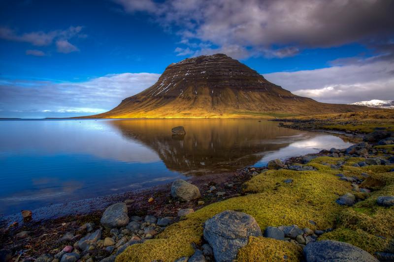 Kirkjufell Reflection, North Iceland