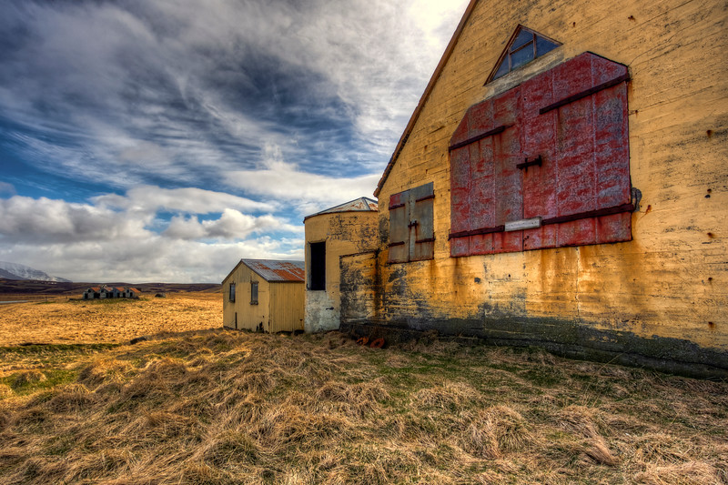 Abandoned Barnes, South Iceland