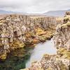Grjotagja fissure Iceland