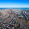 Reykjavik city from above