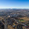 Aerial overlooking kopavogur