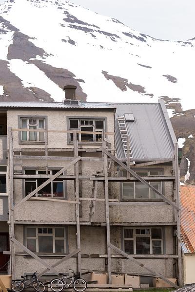 Building in Siglufjordur
