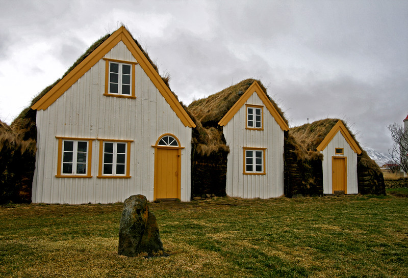 Glaumbaer Folk Museum in Skagafjordur Valley