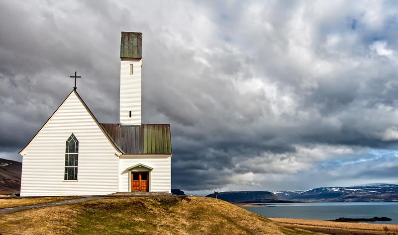 Hallgrim's Church in West Iceland