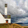 Hallgrim's Church in West Iceland