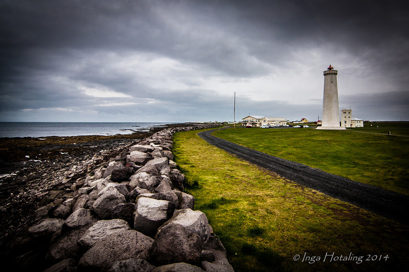 Lighthouse at Gardskagi