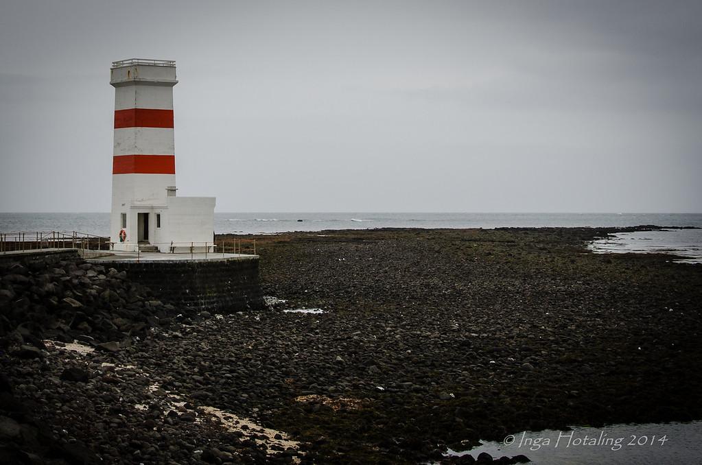 Lighthouse  Reykjanes Peninsula