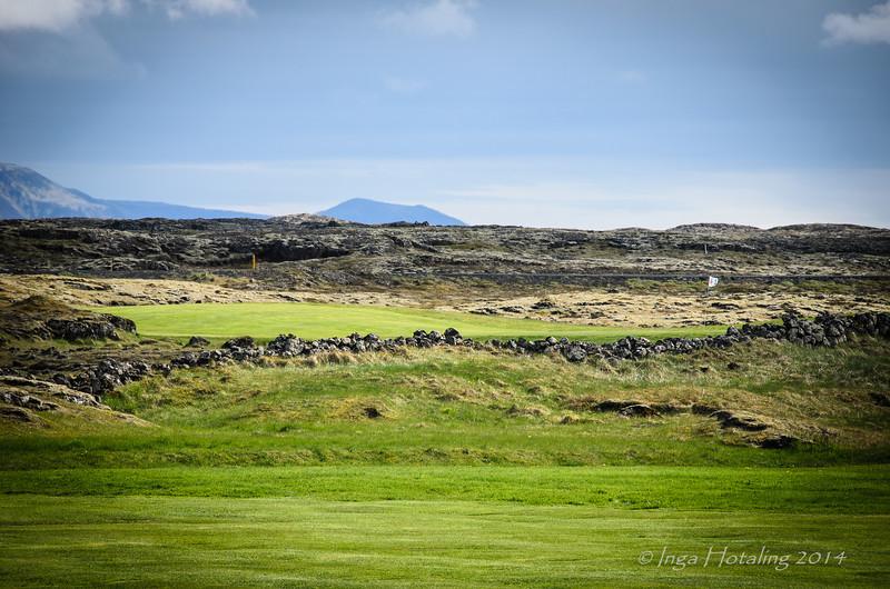 Golf Course near Vogar on 420