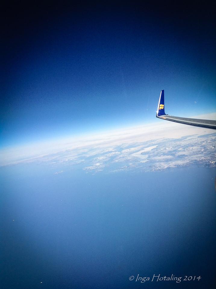 Iceland Flight Reykjavik to Boston