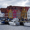 Bryggen - old wooden buildings