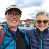 Bev and Ken in Bryggen