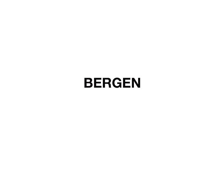Bergen - Day 1 & Day 13