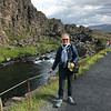 Bev at Þingvellir National Park