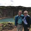 Bev and Ken at Kerið Crater