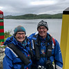 Ken and Bev at Norway-Russia border