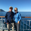 Ken and Bev cruising toward Bodø