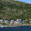 Village along coast south of Rorvik