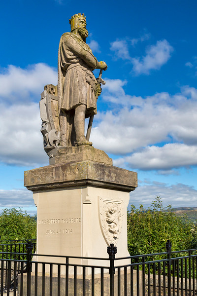 King Robert the Bruce at Stitling Castle