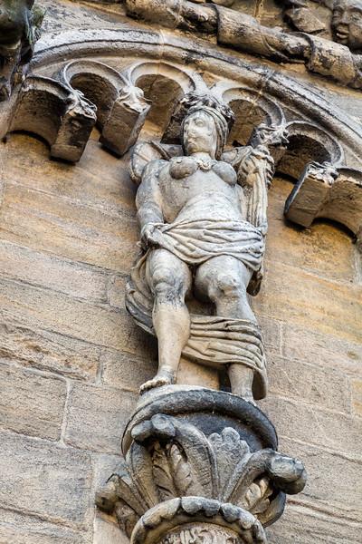 Statue of Godess Abundance at stirling Castle