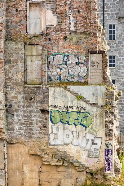 Grafitti in Aberdeen