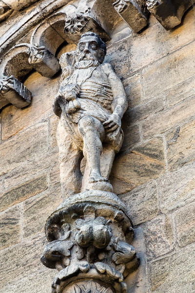 Statue of Saturn at Stirling Castle