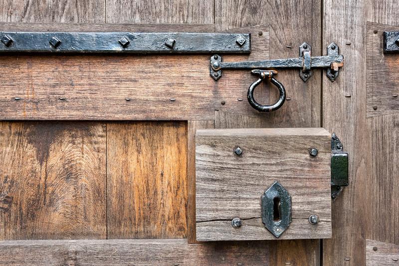 Abby Door Closeup