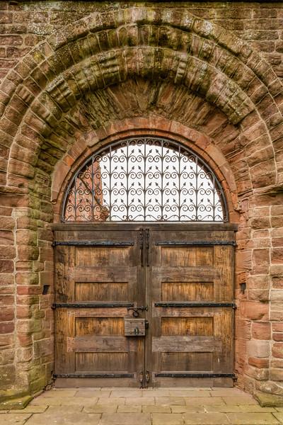 Abby Doors, Arbroath Abby