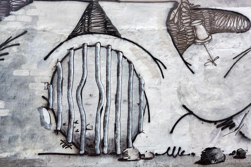 Wall Art in Reykjavík 1