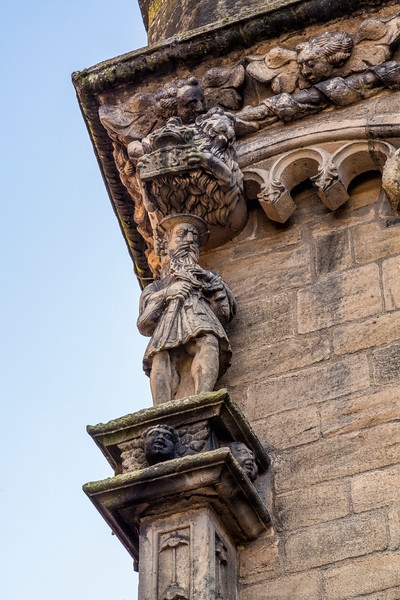 King James V at stirling Castle