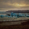 Early morning at Jokulsarlon