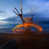 Longship sculture reykavik