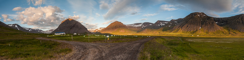 Somewhere in a farmers field in Northern Iceland...