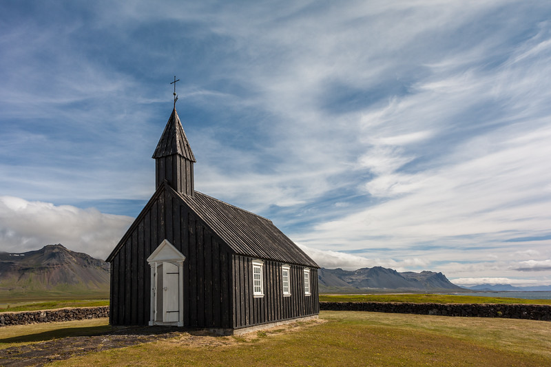 Budakirkja - The Black Church at Búðir
