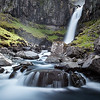 Un-named Falls - Southern Iceland - Colour