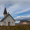 The Church at Breiðavík (breidavik) , Western Fjords, Iceland