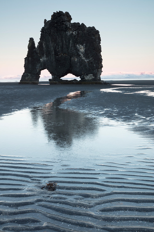 In many places the action of the ocean and the vagaries of volcanic rock have left large sea stacks on the coast