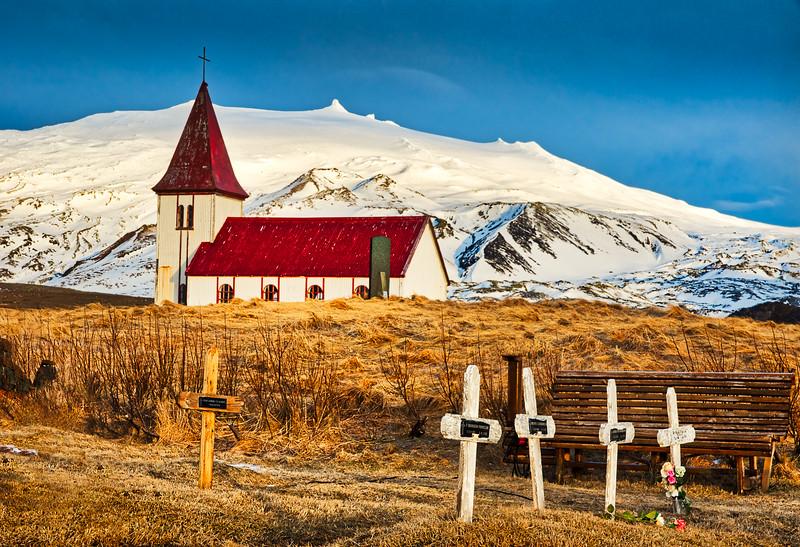 Church at Ingjaldsholl