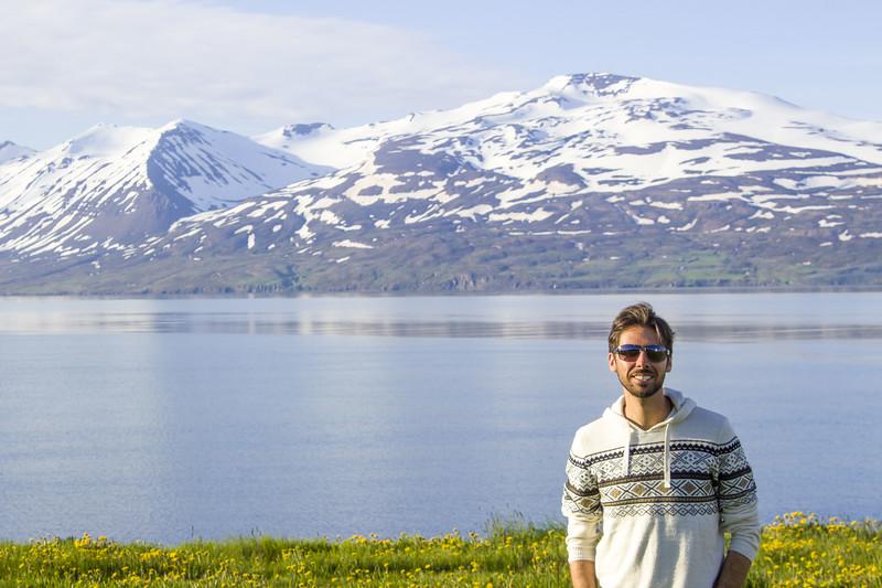 Justin near Akureyri Iceland