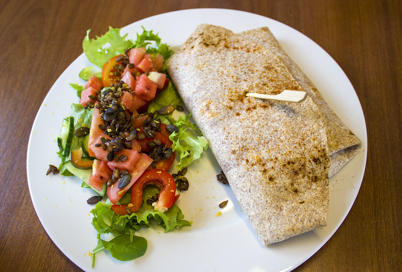 Vegan food in Akureyri Iceland
