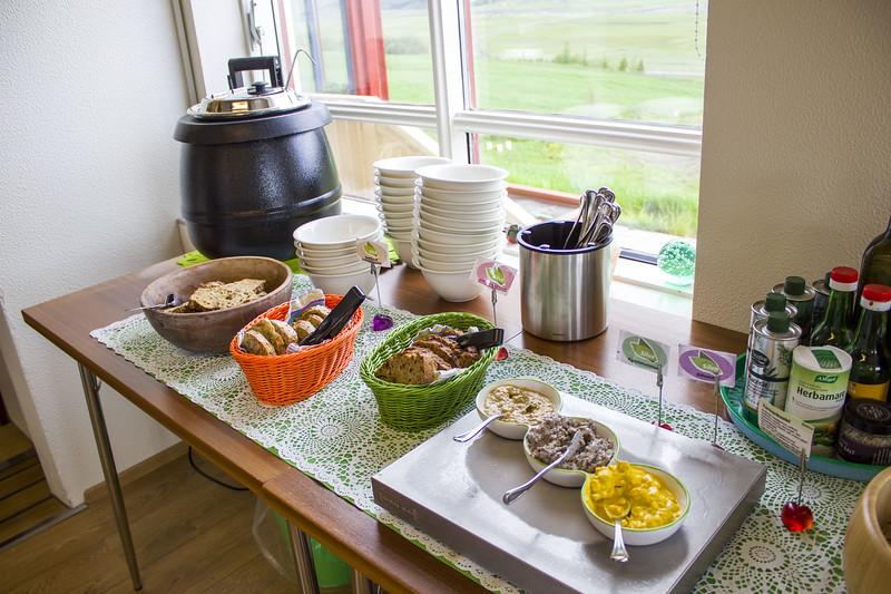 Silva buffet in Akureyri