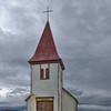 Old Church in a Stromy Day