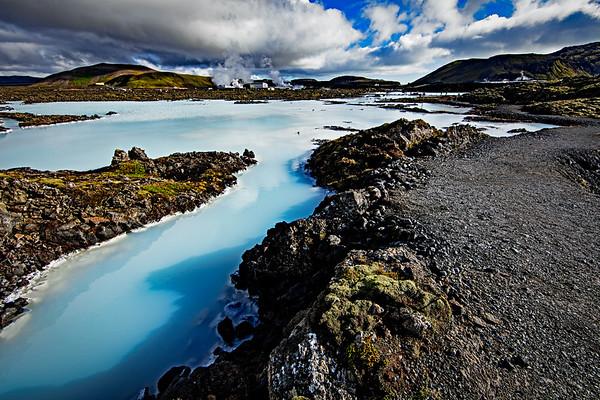 Blue Lagoon & geothermal steam