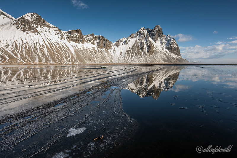 Tide lines and reflections