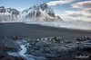 Vestrahorn at low tide