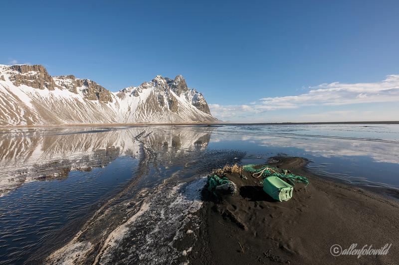 Semi-buried fishing gear