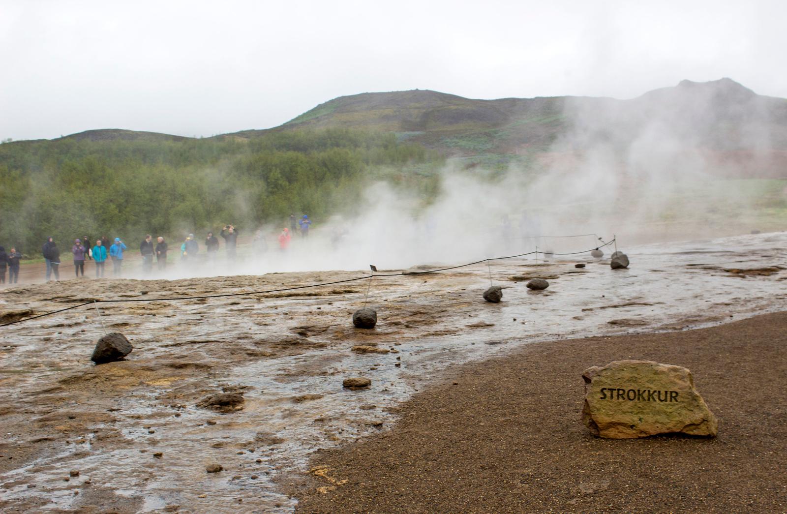 Strokkur geyser in Iceland - Geysir