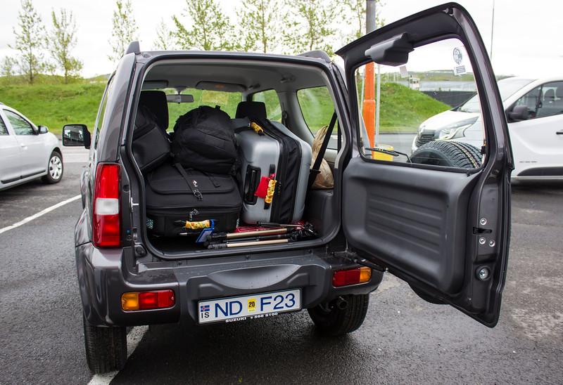 Suzuki Jimny - Iceland car rental