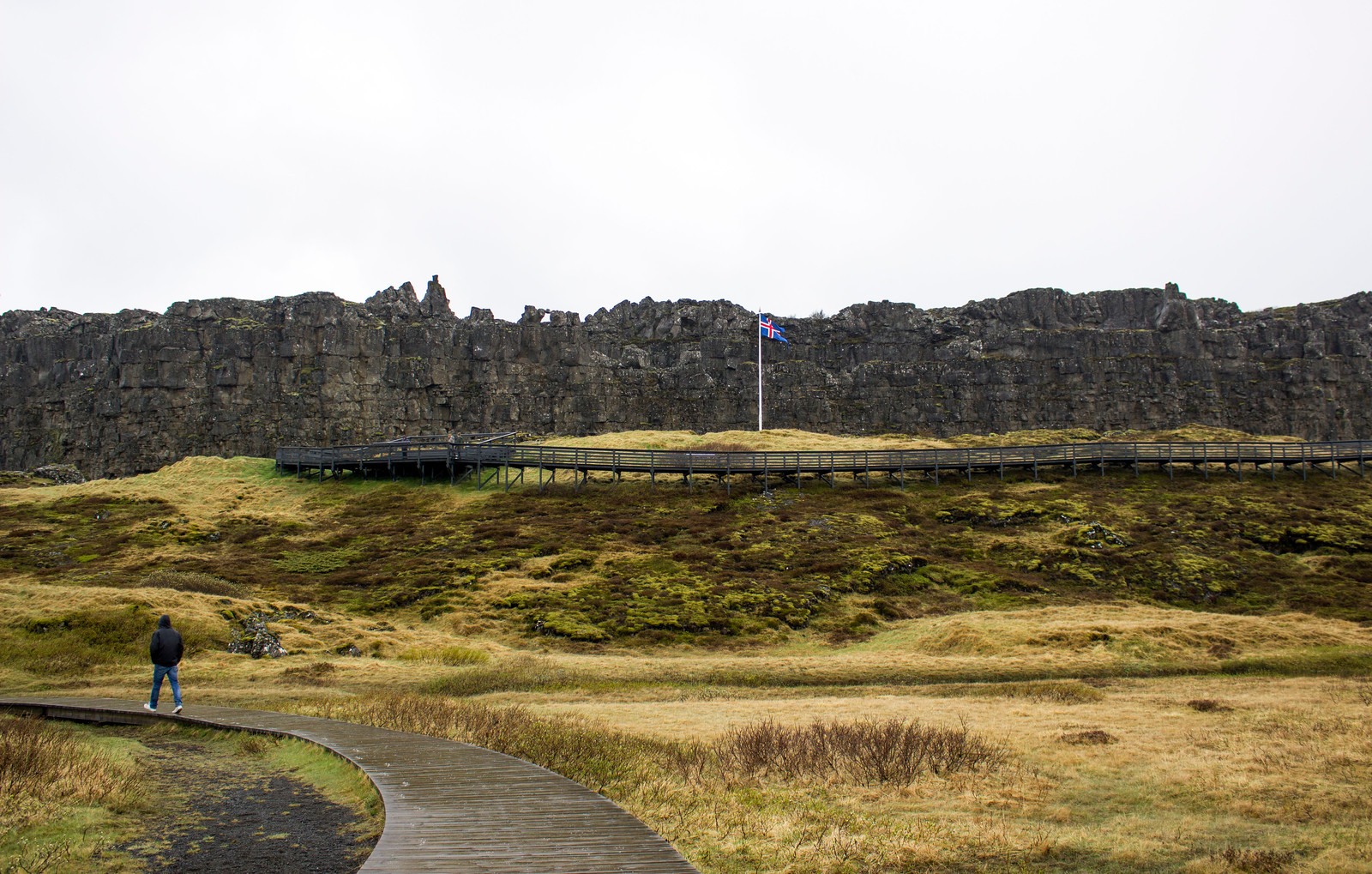 Thingvellir National Park in Iceland - Þingvellir National Park, a UNESCO World Heritage Site