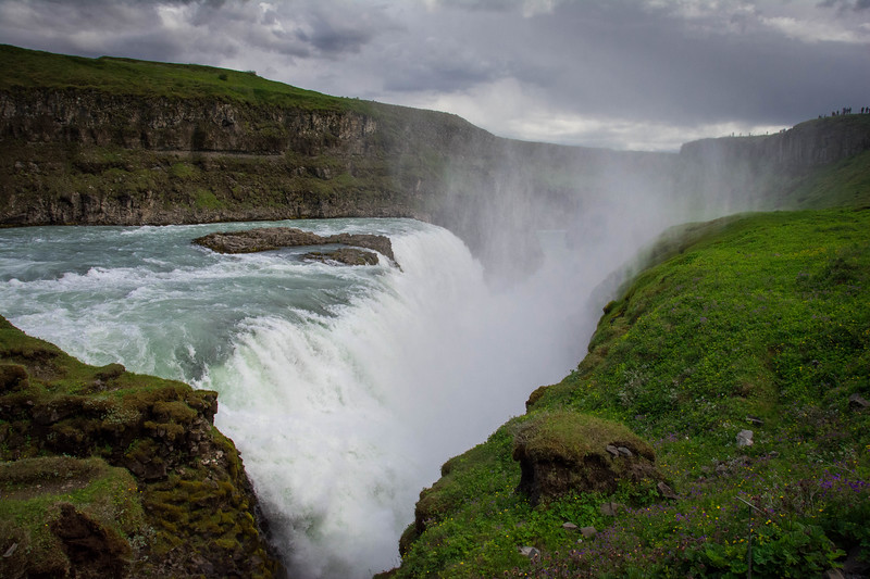 best waterfalls in iceland gullfoss